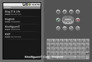Lấy danh bạ từ từ OS 1.6 về sau