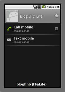 Lấy danh bạ điện thoại từ OS 1.6 về sau